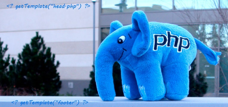 PHP mascot template