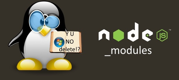 How to delete node_modules folder on Windows machine?