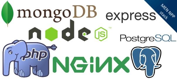 Installing MEN NPP stack (MongoDB, Express, Node js, Nginx