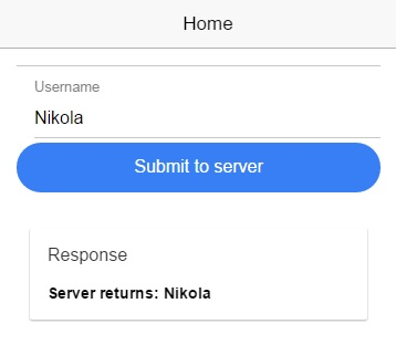 Posting data from Ionic 2 app to a PHP server - Nikola