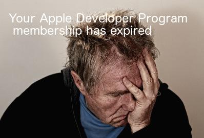 appleDevAccExpired
