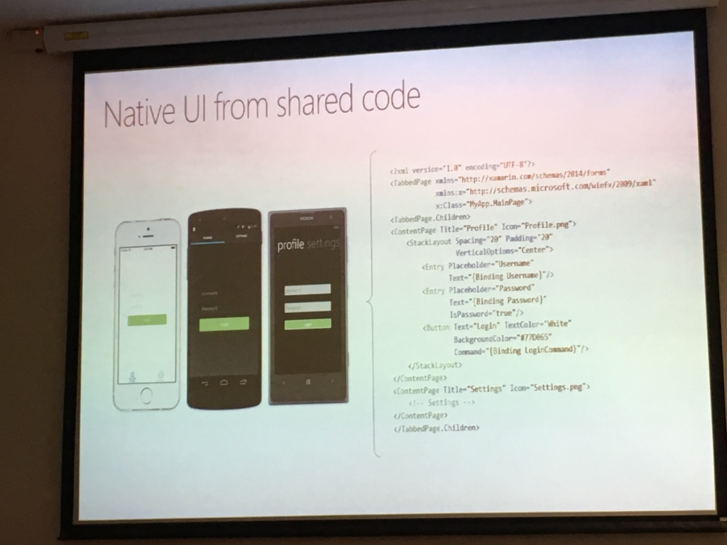 64th SQL/DEV user group meeting about Xamarin - Nikola
