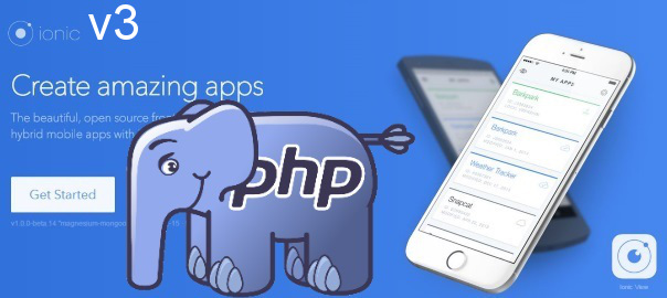 Posting data from Ionic 3 app to a PHP server - Nikola