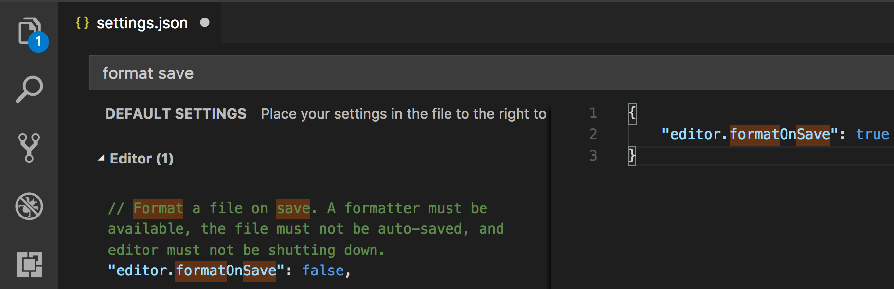 How to Format Code on Every Save in Visual Studio Code