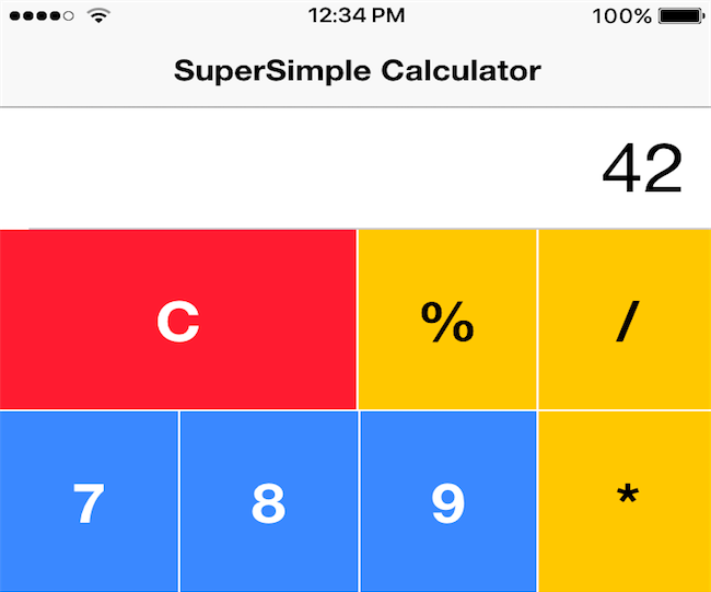 How to polish our existing Ionic3 calculator application - Nikola